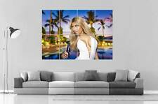 NICKY MINAJ SUN AND BEACH wall Art Poster Grand format A0 Large Print