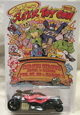 Hot Wheels CUSTOM TOMB UP BATMOBILE  2015 Las Vegas Convention Real Riders 1/1 !