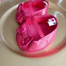 New Listing Build-A- Bear Workshop Shoes-Red w/ Glitter