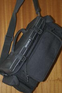 SONY BLACK  SHOULDER / GADGET BAG for SLR / DSLR or VIDEO KIT. VERY STRONG BAG.