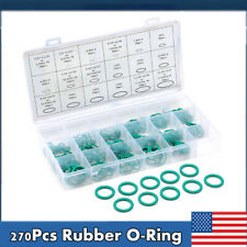 270PC High Pressure O-Ring Set HNBR A/C Assortment Oil Proof Plumbing Air Gas PW