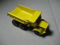 Vintage Matchbox Dump Truck No 6