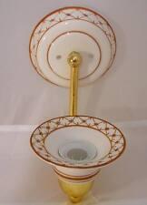 Lampada applique ceramica 1 punto luce attacco E14 OMA17
