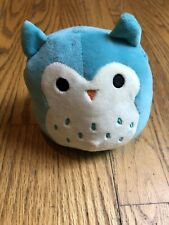 "NEW  Kellytoy Squishmallow 5"" (Winston the Owl) Mini Plush Collection Toy"