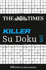 The Times Killer Su Doku 3: Bk. 3, The Times Mind Games, New Book