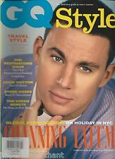 Gq Style Magazine Channing Tatum Travel Style Louis Vuitton Stone Roses 2012