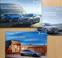 1963) Renault Talisman Prospekt brochure 2016 mit Preisliste 2017 + Zubehör 2016