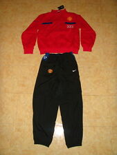 Manchester United Soccer Tracksuit MUFC Nike Football Presentation Suit NEW M L