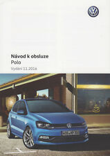 New listing Operating Manual • Vw Polo 6C Facelift • Navod K Obsluze • Czech Language • New!