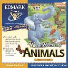Edmark ThemeWeavers Animals Pc Mac Brand New Cd Sealed In Paper Sleeve Win10 8 7