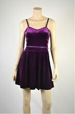 JESSICA SIMPSON  Purple Acai HAYDEN Velvet Corset Dress - Sz 12