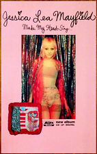 JESSICA LEA MAYFIELD Make My Head Sing Ltd Ed RARE New Poster +FREE Indie Poster