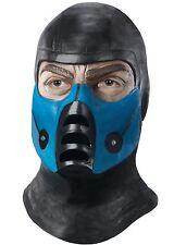 Sub Zero Latex  Mask - Mortal Kombat Costume