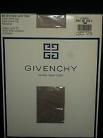 Givenchy French Lycra Sheer Control Top Pantyhose Nylons Fawn Size C Style 264