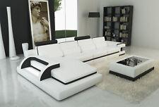 Leather Sofa Corner Pads Set Couch Interior Design L Shape