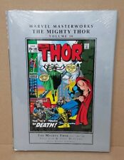 Marvel Masterworks The Mighty Thor Vol 10 HC New Sealed Stan Lee John Buscema