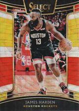 2018-19 Select Basketball Prizms Tri Color #51 James Harden Houston Rockets