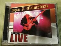YNGWIE MALMSTEEN DOUBLE LIVE 15 TRACK 2 CD SET FREE SHIPPING