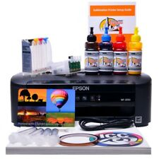 Sublimation printer A4 starter bundle package non oem Epson WF-2010w Dye Sub