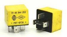 Relais 12 V 40 a 03.532 7700844253 G. Cartier-Renault-Jaune/Yellow