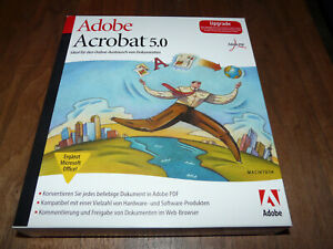 Adobe Acrobat 5.0 für Mac deutsche Vollversion