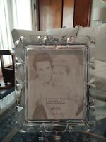 "Lenox Crystal Wedding Promises 8"" x 10"" Picture Photo Frame New in Box"