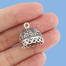 10x Tibetan Silver Tassel End Cap Beads Stopper Connector Jewelry Making Finding