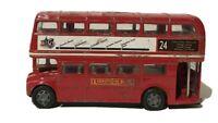 London Big City Double Decker Bus Die-cast Toy No 61051 Bus No 24
