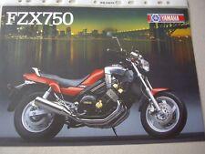 Yamaha FZX750, baby V Max, sales brochure