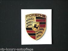 PORSCHE Wappen Aufkleber für Porsche Felgen & Andre  Cup Felgen 997 911 993