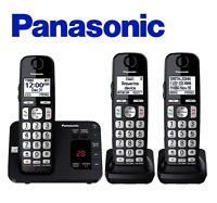 Panasonic KX-TGE433B Expandable Cordless Phone System with Answering Machine