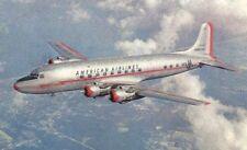 Postcard American Airlines DC-6 Flagship Ivan Dmitri Vintage Transportation