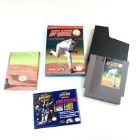 Roger Clemens' MVP Baseball Nintendo Entertainment System NES CIB WITH POSTER !!