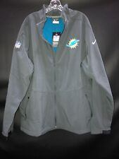 MIAMI DOLPHINS NIKE THERMA-FIT TEAM ISSUED SNOW JACKET SIZE 3XL NEW W/TAGS