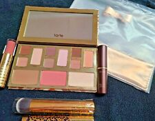 Tarte Tartelette Makeup Bag Must-Haves 6 Pc Discovery Set Eyes,Cheeks, Lips NEW!