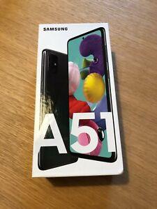 Samsung Galaxy A51 - 128GB - Prism Crush Black - Ohne Simlock - (neu + sealed)