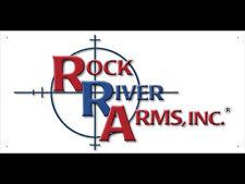 vn1924 Rock river Arms Dealer Gun Shop for Advertising Display Banner Sign