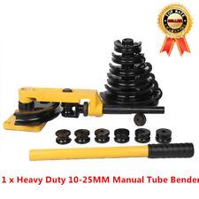 Heavy Duty 10-25mm Manual Tube Bender Set Steel Pipe Handheld Pipe Bending W-25S