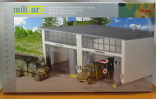 Herpa 745857 Military Gebäudebausatz Reparaturhalle groß - 2-ständig