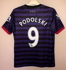 FC ARSENAL 20122013 AWAY FOOTBALL JERSEY CAMISETA SOCCER SHIRT #9 PODOLSKI BOYS