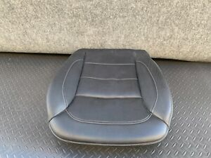 MERCEDES X166 W166 ML350 GL450 GL350 FRONT LEFT LEATHER SEAT CUSHION BOTTOM OEM