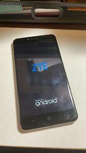 "UNLOCKED ZTE ZMAX PRO Z981 32GB 6"" Blue VERY GOOD CONDITION 4G smartphone FRESHP"