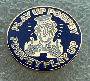Very Rare Portsmouth Supporter Enamel Badge - Very Smart - Wear With Pride!