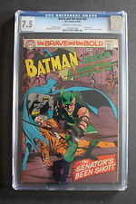 BRAVE & the BOLD #85 1st new GREEN ARROW 1969 Pre #76 Lantern NEAL ADAMS CGC 7.5
