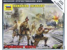 Z6163 ROMANIAN INFANTRY - ZVEZDA 1/72 20MM AXIS WW2 WARGAMING BATTLEGROUP