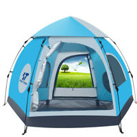 Waterproof Automatic 5-6 People Outdoor Instant Popup Tent Camping Hiking Canopy