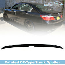 STOCK IN USA ▶ Painted Color #NH731P Honda Accord 9 4D OE Trunk Spoiler EC Sport
