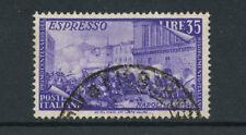 1948 - LOTTO/17642 - REPUBBLICA - 35 LIRE RISORGIMENTO ESPRESSO - USATO