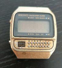 Vingage Seiko Calculators Watch C359-5010 for parts