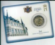 COINCARD 2 EURO LUSSEMBURGO 2007 COMMEMORATIVA PALAZZO GRANDUCA